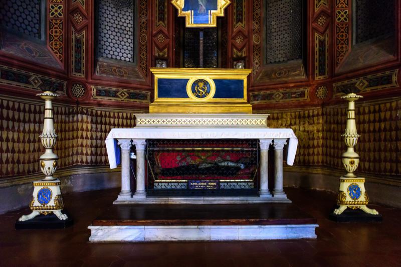 Basilica of Santa Maria dei Servi - Tomb of the Incorruptible