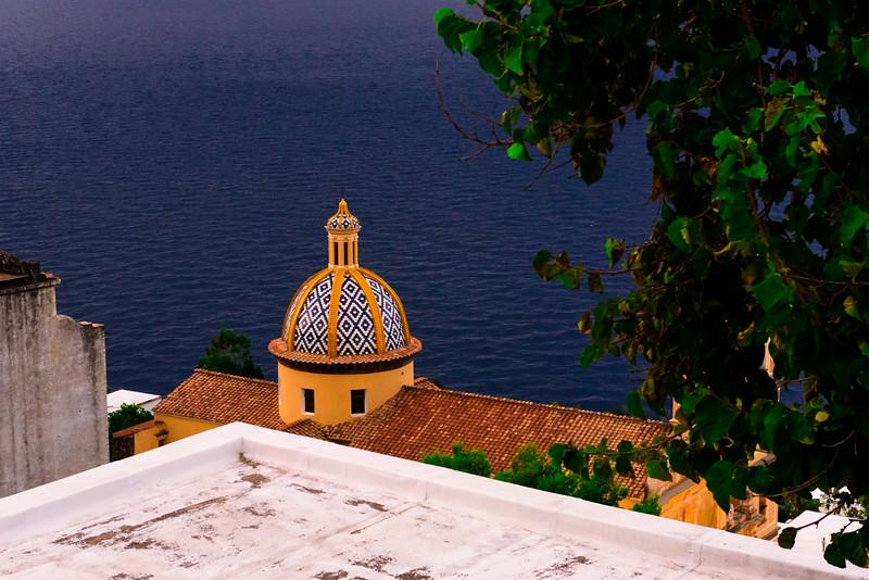 The Dome of Chiesa di San Luca Evangelista