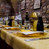 Baptism Dinner in an Assisi Restaurant