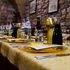Baptism Dinner in an Assisi Restaurant