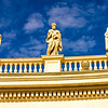 Three Statues of the St. Peter's Square Colonnade
