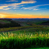 Sunset over the Tuscan Countryside