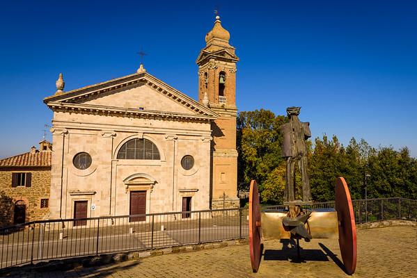 The Chiesa della Madonna del Soccorso as seen from across the street