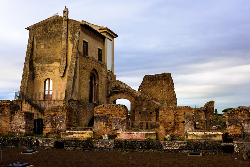 Ruins on Palatine Hill - Rome