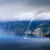 Waterspout in Amalfi