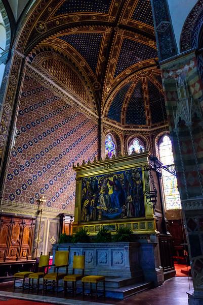 Basilica of Santa Maria dei Servi - Coronation of the Virgin Altarpiece