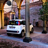 Parking at Catherine of Siena's Home