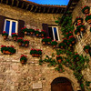 A Decorative Corner in Assisi