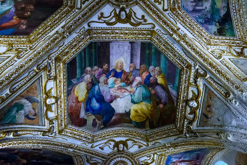 Basilica of the Crucifix - Ceiling Fresco