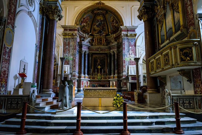 Amalfi Cathedral - Altar