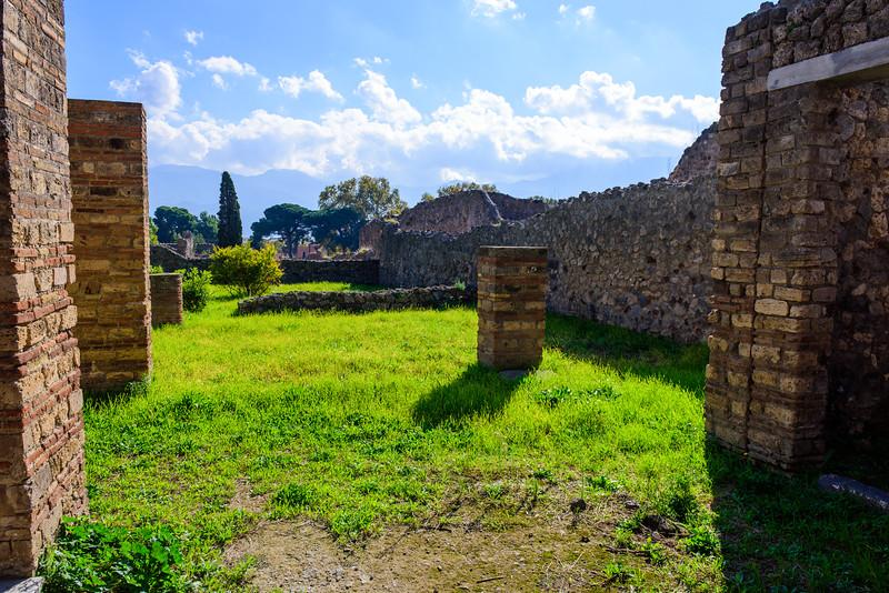 Someone's Backyard at Pompeii