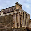 Temple of Antoninus and Faustina - Side View