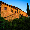 Our Tuscan Farmhouse in Sunrise Light