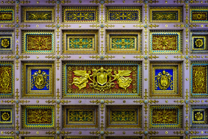 St. Paul Outside the Walls - Ceiling Detail