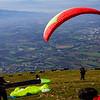Paragliding on Monte Subasio