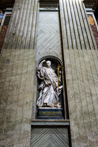 Founder Statue - St. Vincent de Paul
