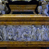 Monument to Christina of Sweden - Relief