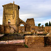 Ruins on Palatine Hill - Rome