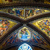 Orvieto Cathedral - Ceiling Frescoes 2