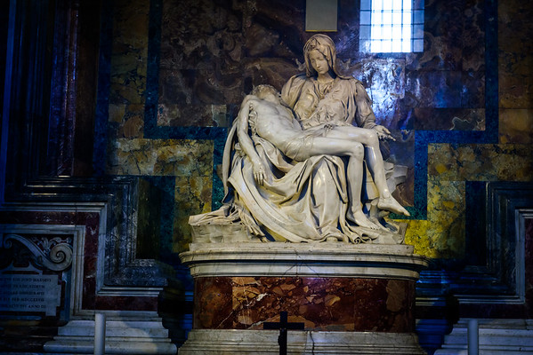 Michelangelo's Pietà. I still can't believe I was actually there and saw this in person.