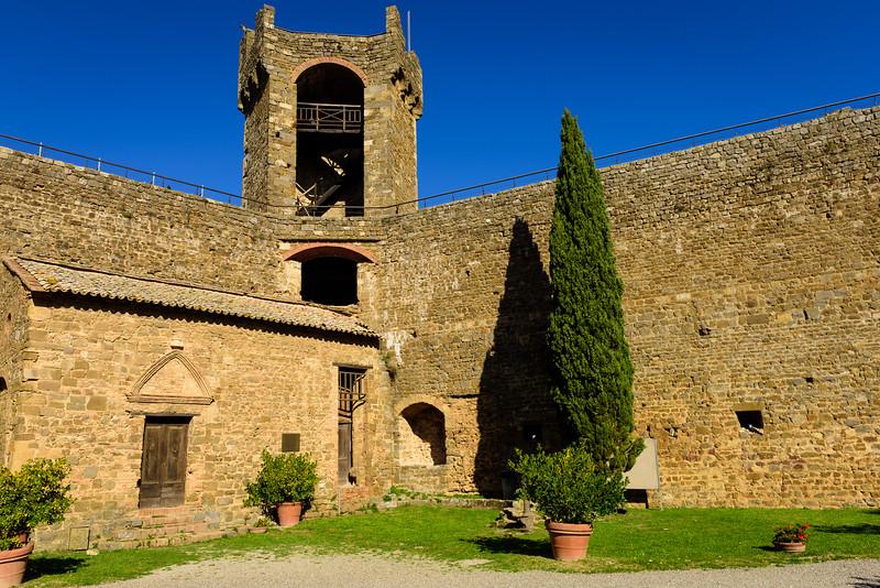 Fortezza di Montalcino - Inner Courtyard