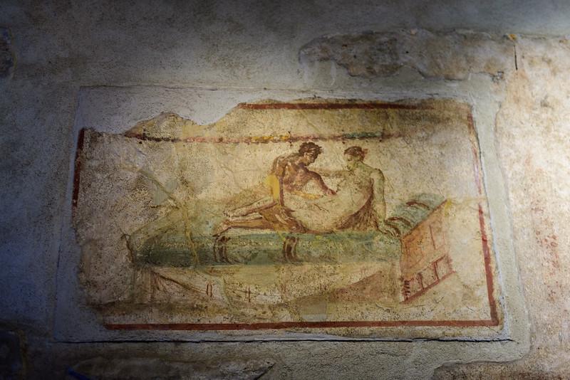 Brothel Artwork at Pompeii