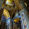 St. Peter's Basilica - Arches and Dome