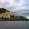 Overcast Amalfi Coast