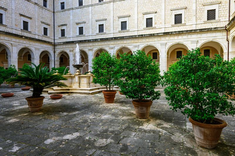 Monte Cassino Inner Courtyard