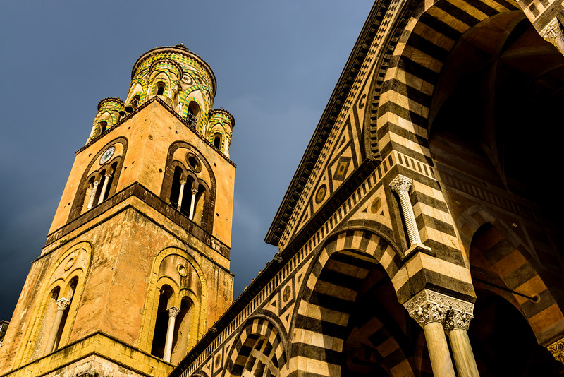 Amalfi Cathedral - Tower and Portico