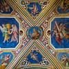 Chiesa Rettoria San Lorenzo in Palatio ad Sancta Sanctorum - Stairway Ceiling