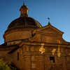 The Dome of Chiesa Nuova (Assisi) at Sunset