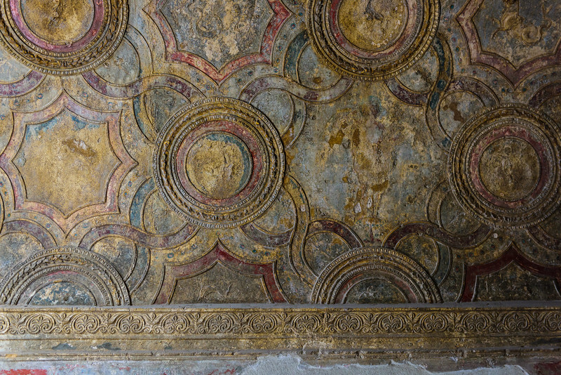 Pompeii Ceiling Art