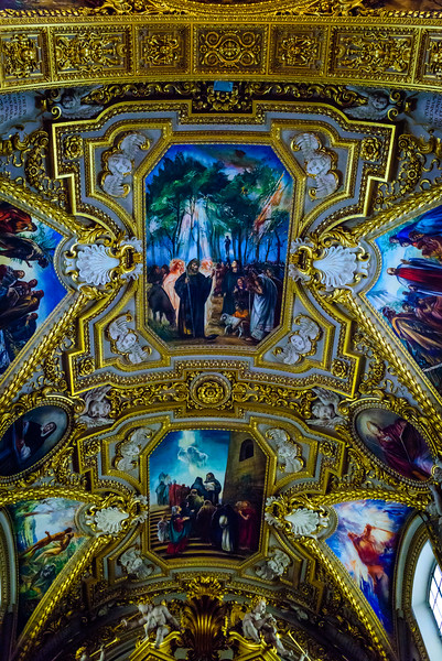 Cathedral of Monte Cassino - Ceiling Frescoes