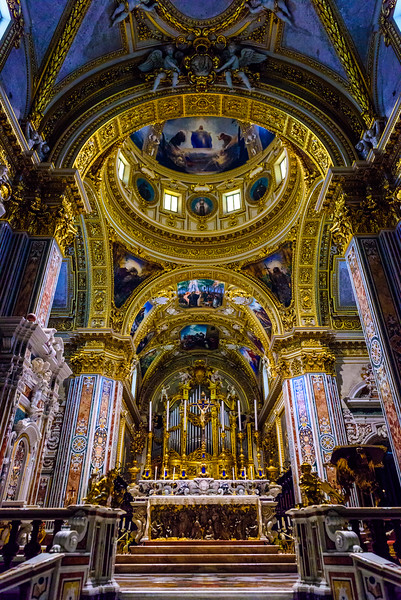 Cathedral of Monte Cassino - Altar and Dome
