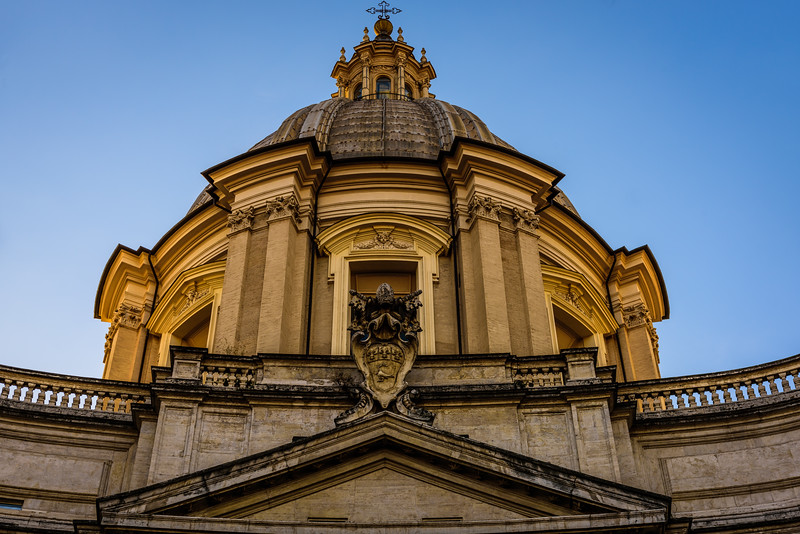The Dome of Sant'Agnese in Agone