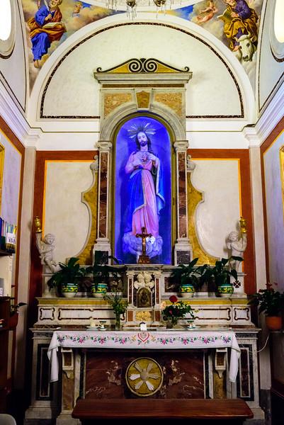 Chiesa di San Luca Evangelista (Praiano) - Sacred Heart