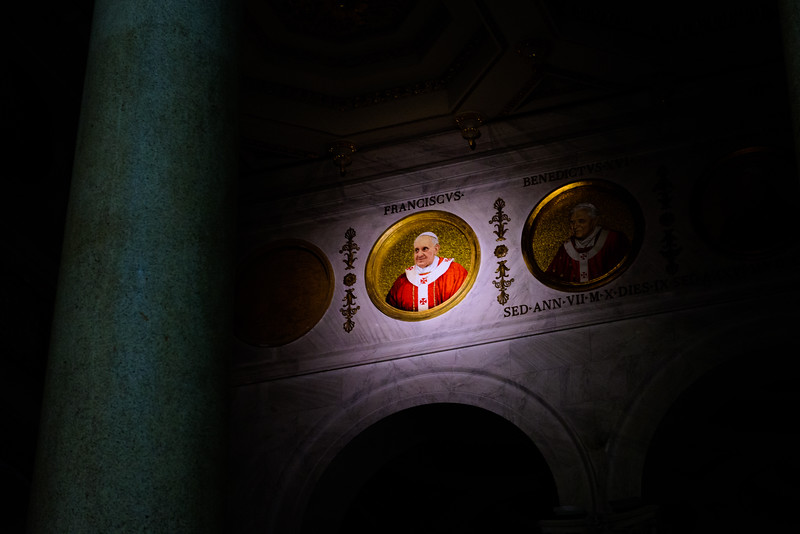 St. Paul Outside the Walls - Portrait of Pope Francis