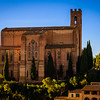 The Basilica of San Domenico in Siena