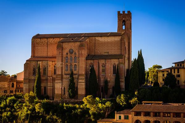 The Basilica of San Domenico in Siena