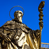 Monte Cassino - Statue of St. Benedict