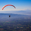 Soaring off of Monte Subasio