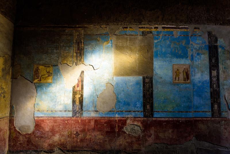Ancient Artwork of Pompeii