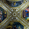 Basilica of the Crucifix - Crypt Ceiling Frescoes