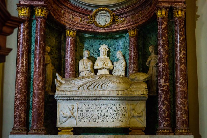 Basilica of St John Lateran - Sarcophagus