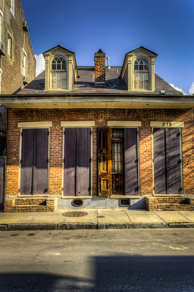 Semi-Affordable French Quarter Housing