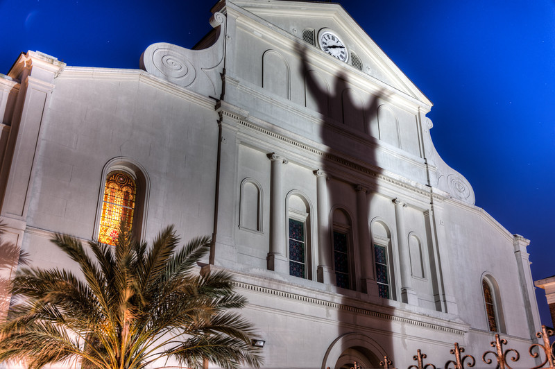 St. Louis Cathedral in the French Quarter of New Orleans