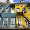 Blue and Yellow in the French Quarter
