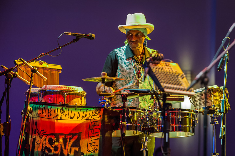 Cyril Neville and The Neville Brothers in New Orleans, 2012