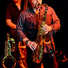 Tilt-a-Whirl Band - Doug James on the saxophone